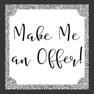 All reasonable offers considered!